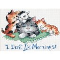 Counted Cross Stitch-65043 I Don't Do Mornings