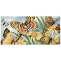 Counted Cross Stitch-65055 Gold Petite Butterfly Vignette