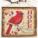 Counted Cross Stitch-70-08857 Hope Ornament