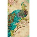 Counted Cross Stitch-70-35293 Indian Peacock