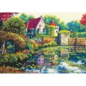 Counted Cross Stitch-70-35326 Gold Collection English Castle