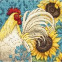 Counted Cross Stitch-70-65130 Gold Petite Rooster