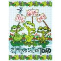 Counted Cross Stitch-70-65148 Frog Parking