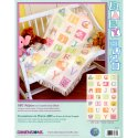 Counted Cross Stitch-73261 Baby Hugs ABC Afghan