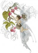 Pascal Moguerou-Fairy Collecting Raspberries